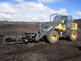 raptor trencher on loader-01