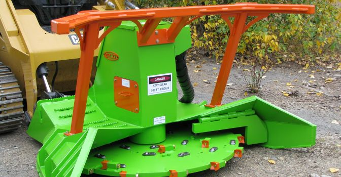 AFE SS ECO Forestry Mulcher - Total Machinery